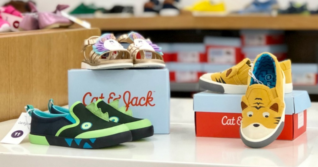 Cat & Jack Kid's Shoes on display at Target