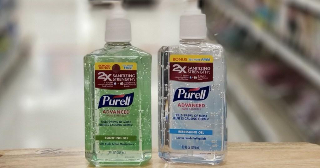 Target Purell Hand Sanitizer
