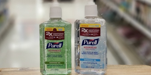 New Purell Hand Sanitizer Coupons = Just $1.39 at Target