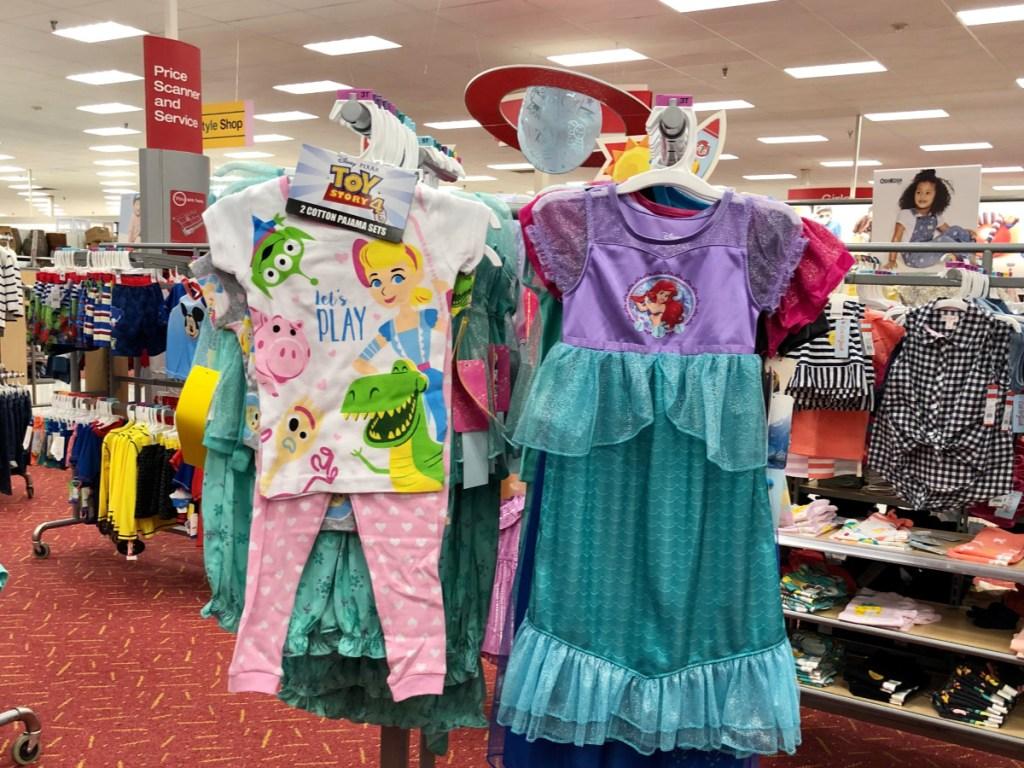 Target toddler girls sleepwear