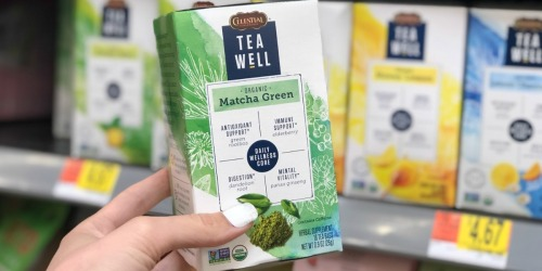 91e4532b36c Over 50% Off Organic TeaWell Teas from Celestial Seasonings at Walmart