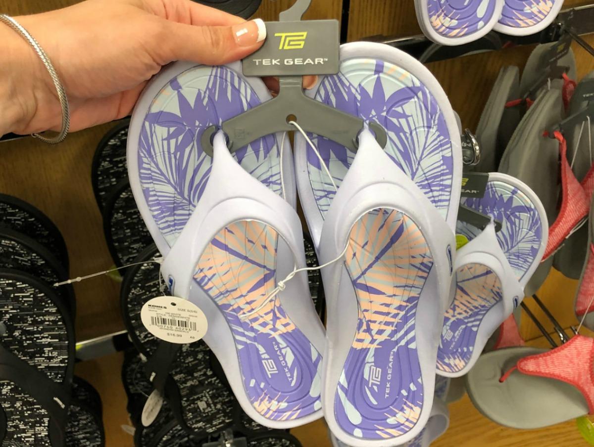 Women's Tek Gear Sandals Just $8.49 at
