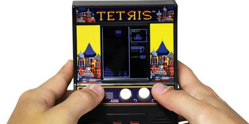 Tetris Mini Arcade Game Console Only $8.49 (Regularly $20)