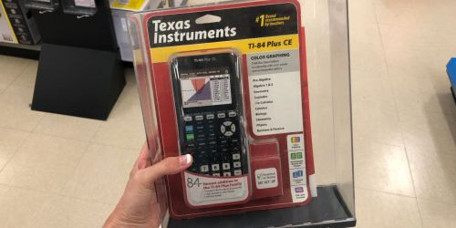 Texas Instruments Graphing Calculator Only $97.49 at Staples (Regularly as Much as $160)