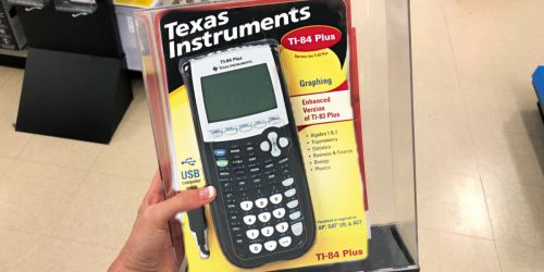 Over 45% Off Texas Instruments Graphing Calculator + Free Shipping on Amazon