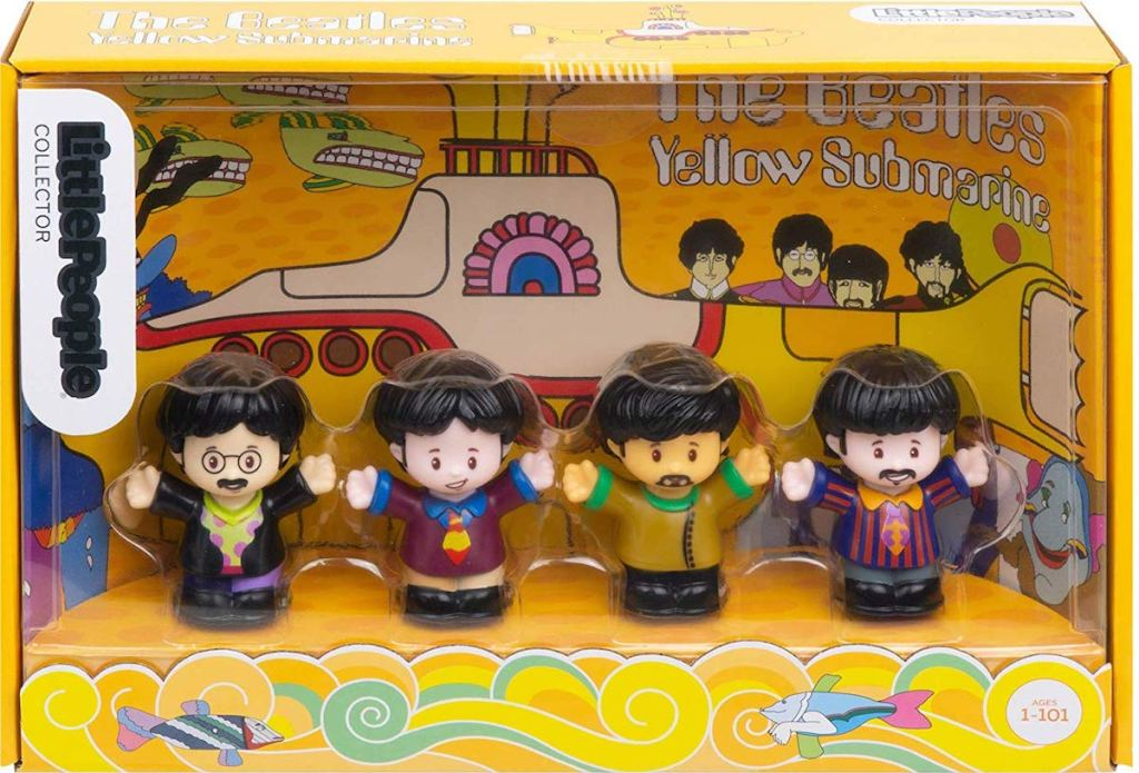 Fisher-Price The Beatles Yellow Submarine by Little People Set