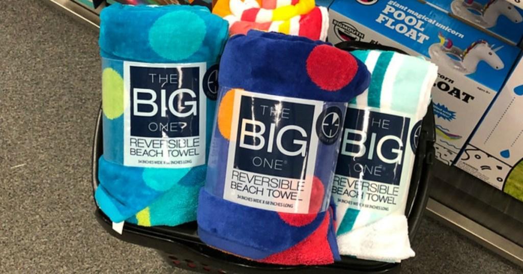 The Big One Beach Towels