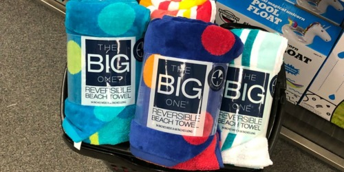 Kohl's The Big One Reversible Beach Towels Just $4.91 Each (Regularly $30)