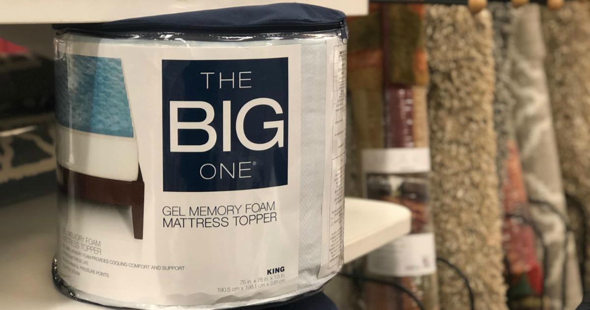 Kohl S Cardholders The Big One Gel Memory Foam Mattress
