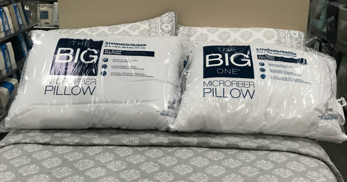 The Big One Pillow On Sale 2 54 At Kohl S Regularly 10