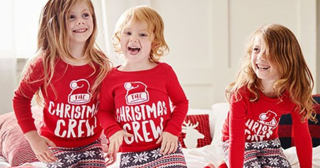 Christmas Pjs.Matching Christmas Pajamas For The Whole Family As Low As