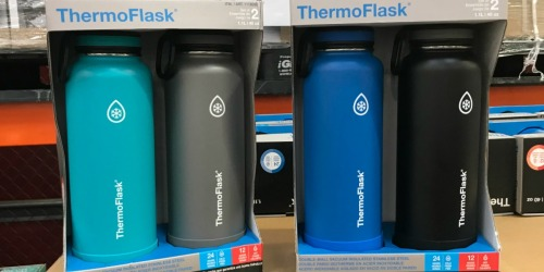 HUGE Thermoflask Insulated Water Bottle 2-Packs as Low as $17.99 at Costco
