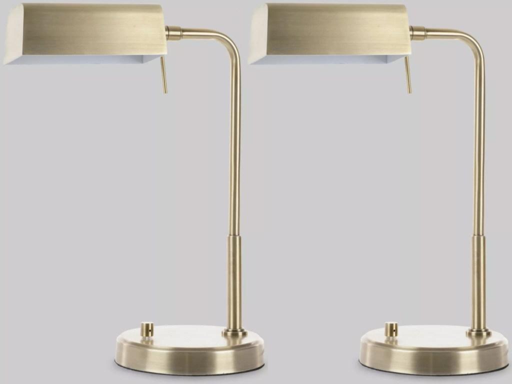 Threshold Pharmacist Task Lamp Brass
