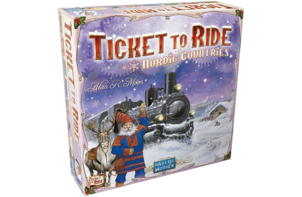 Ticket to Ride Nordic Countries in box