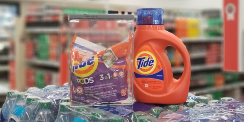 Tide Liquid Detergent & Tide PODS Only 99¢ Each after Walgreens Rewards