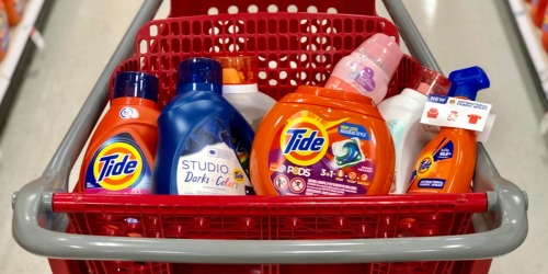 Over 50% Savings on Tide Detergents After Target Gift Card
