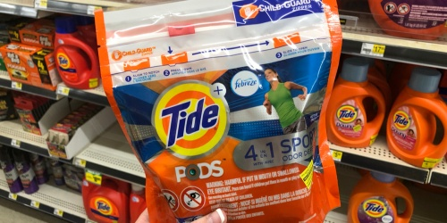 Tide & Gain Laundry Products Only $1.95 at Dollar General (Just Use Your Phone)