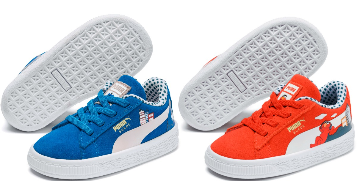 Sesame Street Kids Shoes in Red and Blue