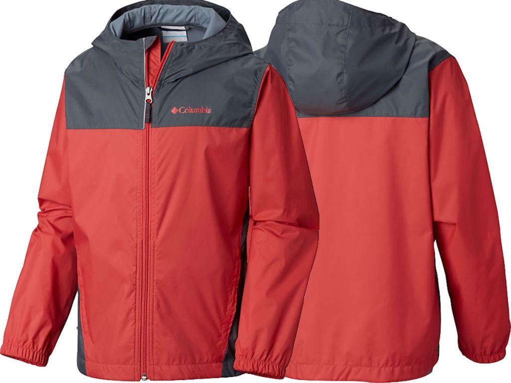 red Toddler Raincreek Falls Jacket