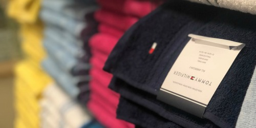 Tommy Hilfiger Cotton Bath Towels Only $5.65 Each (Regularly $16) + More