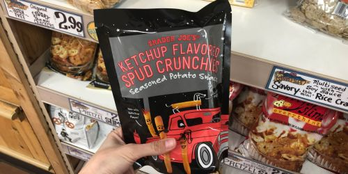 Trader Joe's Ketchup Flavored Spud Crunchies Only $1.99 (Gluten-Free Snack)