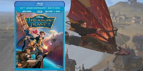 Treasure Planet 10th Anniversary Blu-ray + DVD Only $6.46