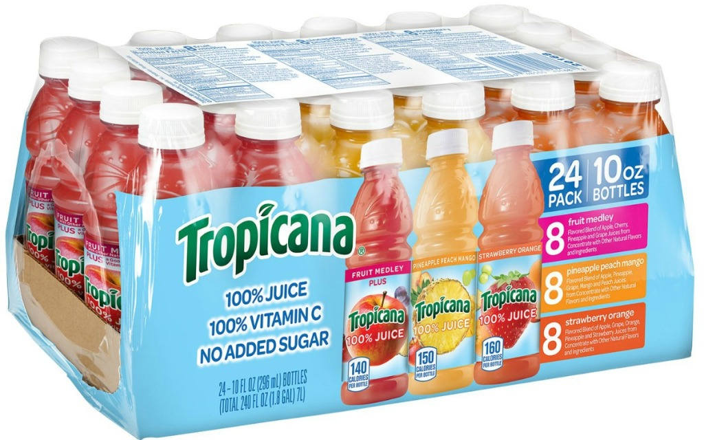 24-count of tropicana juice variety pack