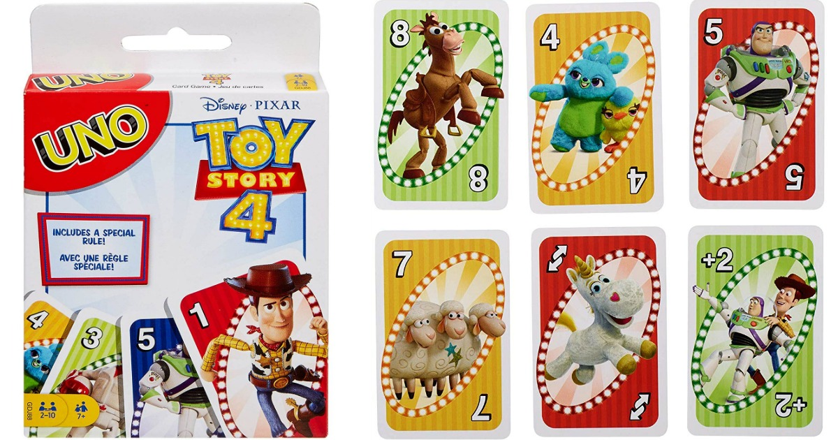 Toys Story 4 UNO Card Game