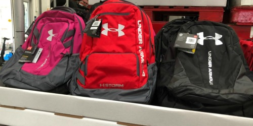 Over 50% Off Under Armour Outlet = Nice Buys on Backpacks & More