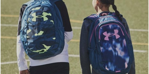 25% Off Under Armour Kids Backpacks + Free Shipping | Water-Resistant w/ Lap-Top Sleeves