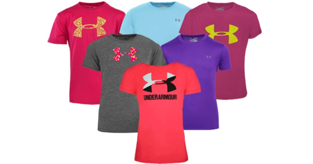 Under Armour Girls Shirts
