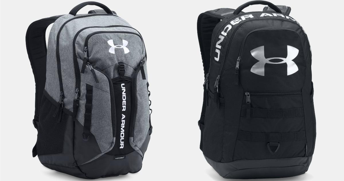 Under Armour Storm Contender or Big Logo Backpack