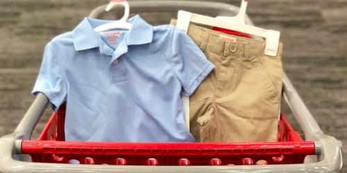 Cat & Jack School Uniforms as Low as $3.60 at Target