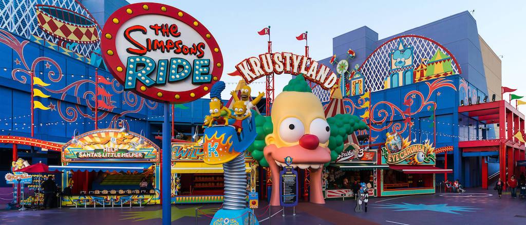 Krustyland at Universal Studios Hollywood