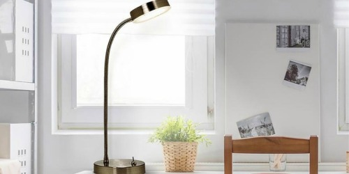 Adjustable Stainless Steel Desk Lamp Only $7.99 at Lowe's (Regularly $20)