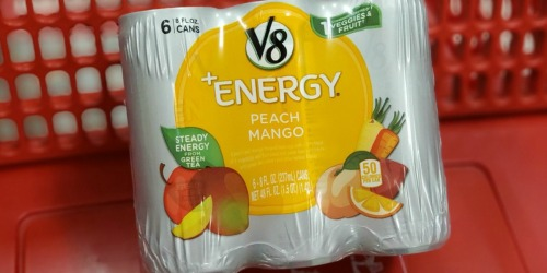 V8 +Energy Drink Cans 24-Count from $11 Shipped on Amazon | Just 47¢ Per Can