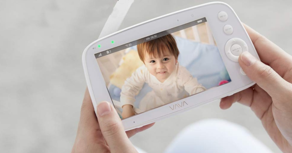 VAVA 720P HD Video Baby Monitor w/ Camera & Audio