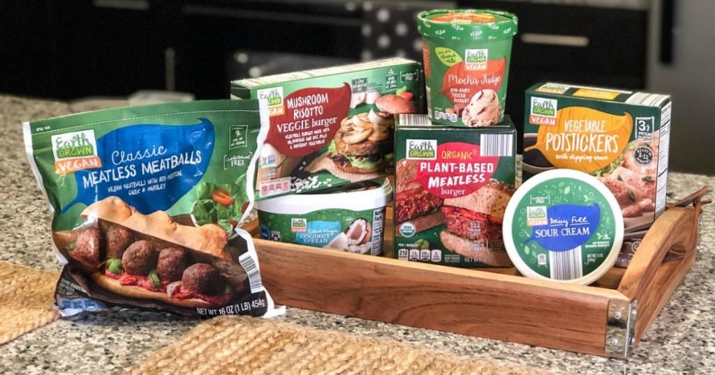10 Affordable Earth Grown Vegan Foods at ALDI