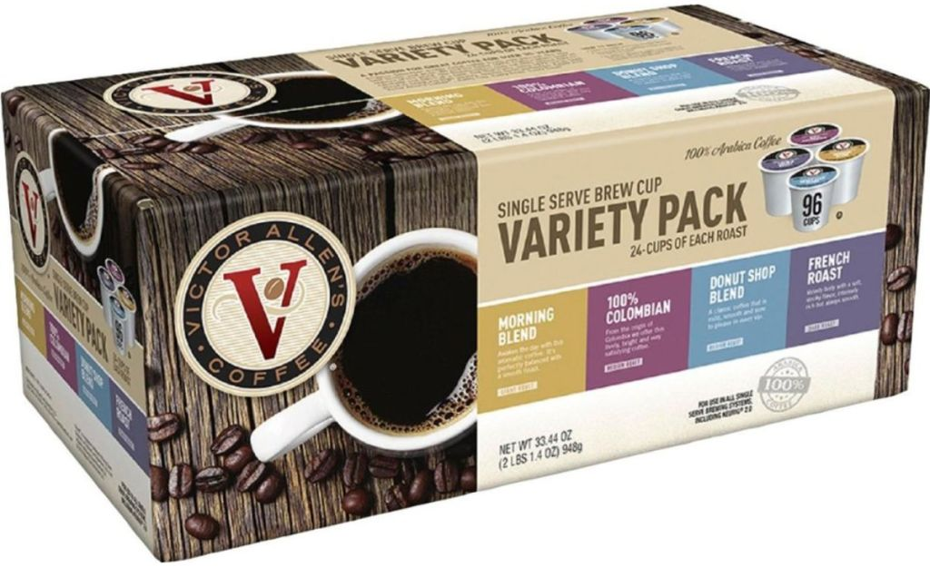 Victor Allen S Coffee 96 Count K Cups Only 24 99 At Best