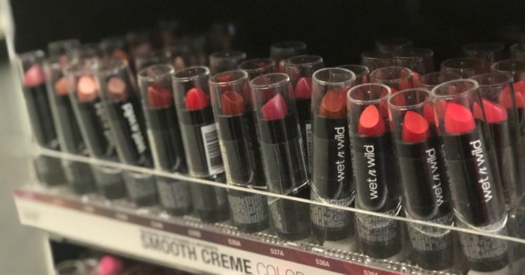 Wet n Wild Lipsticks