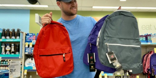 Wexford Backpacks Only $3 at Walgreens (Great Donation Item)