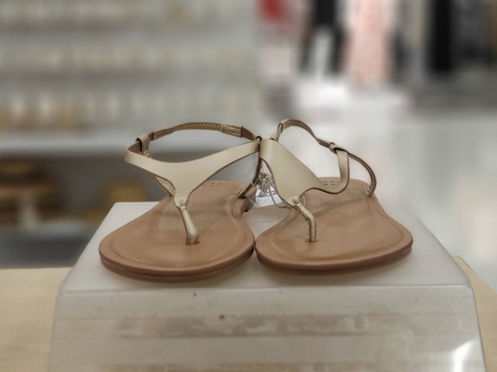 Women's Norah T-Strap Naked Sandals