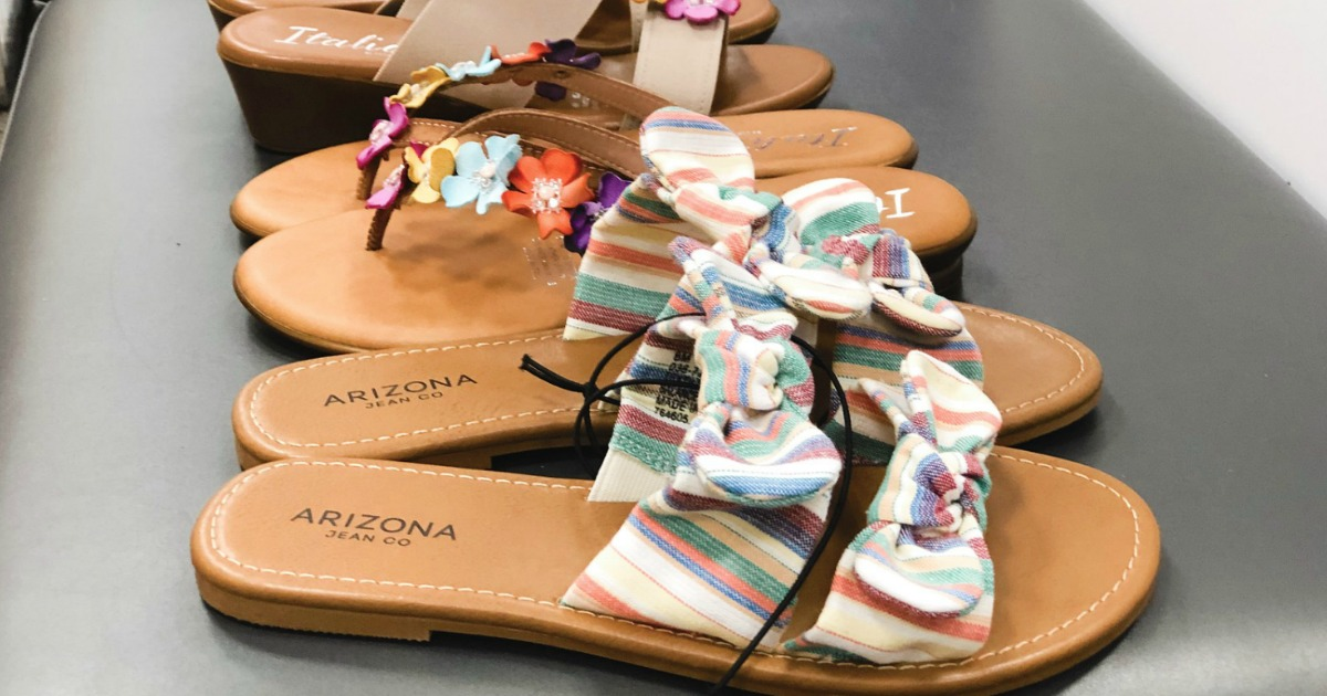 Arizona Women's Sandals Only $13.49 at
