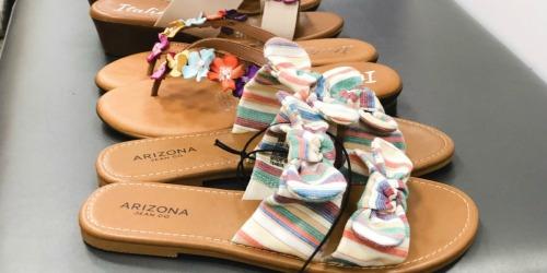 Arizona Women's Sandals Only $13.49 at JCPenney (Regularly $40)