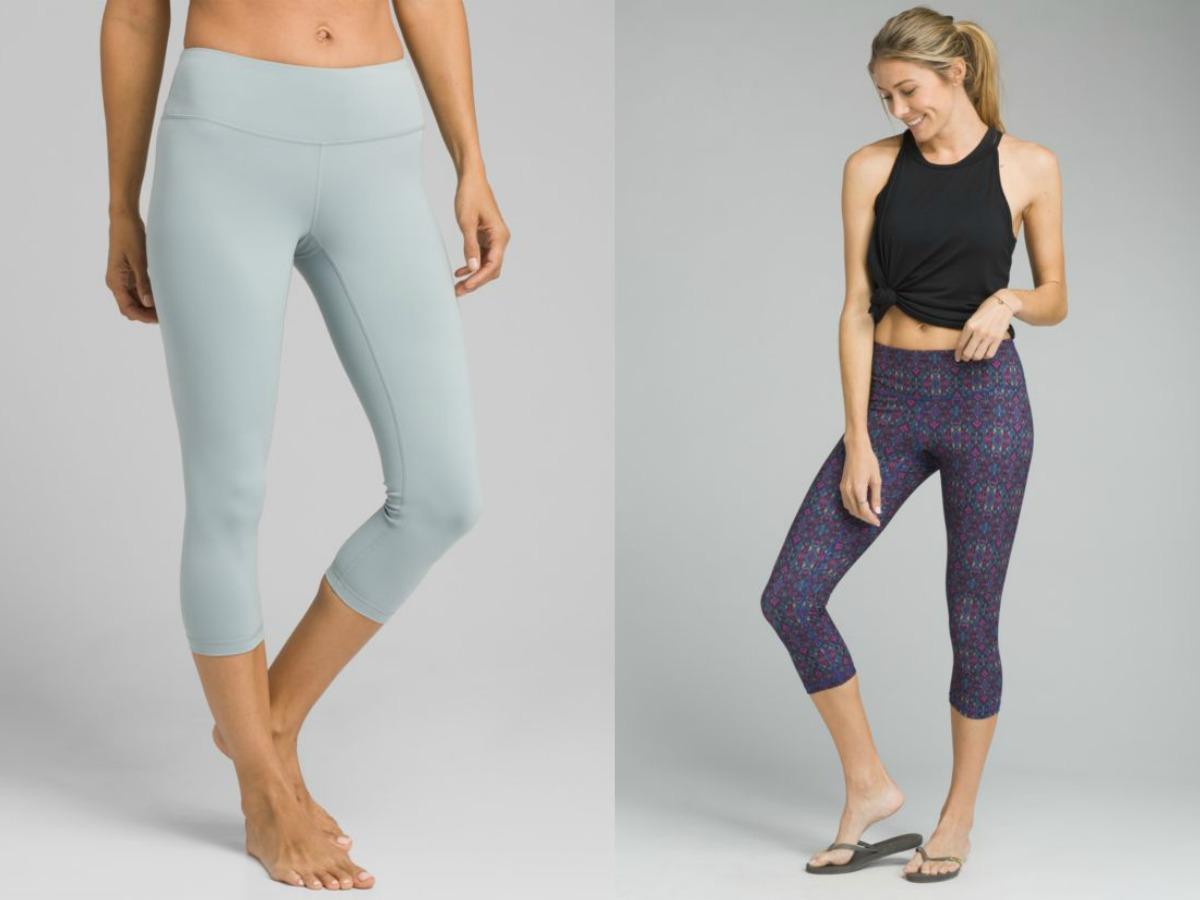 prana yoga pants modeled by women