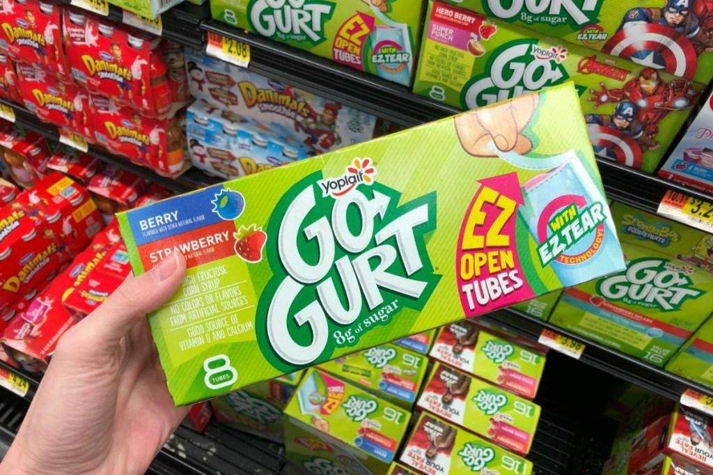 Yoplait Go-Gurt 8-count at walmart