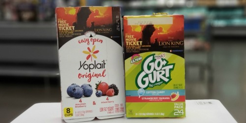 FREE $13 Fandango Movie Code w/ Yoplait Yogurt Purchase + Walmart Deal Ideas