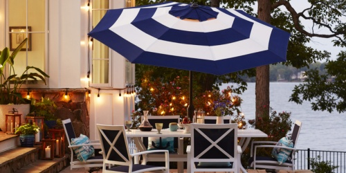 Allen + Roth 9-Foot Patio Umbrellas Only $22 at Lowe's (In-Store & Online)