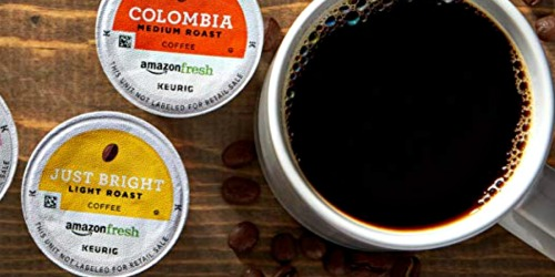 AmazonFresh 80-Count Coffee K-Cups Only $20.99 Shipped for Prime Members (Just 26¢ Per K-Cup)