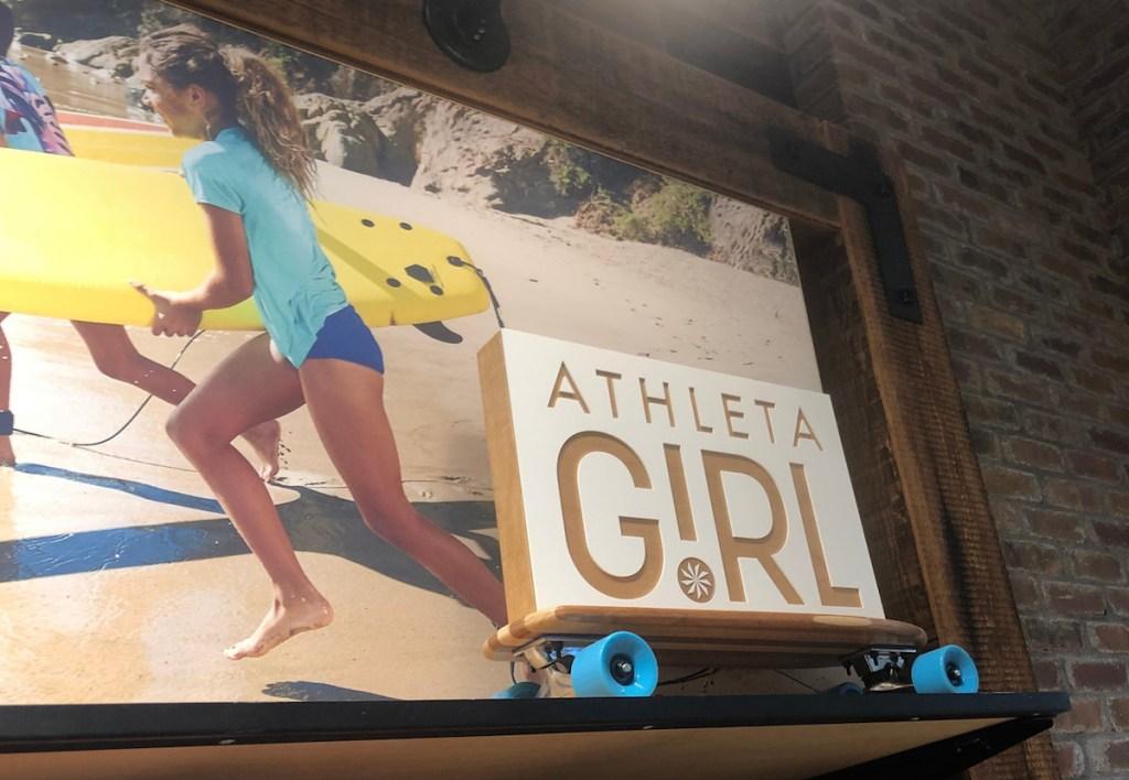 athleta girl sign in store